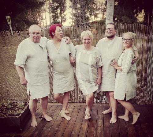 Linased saunakleidid